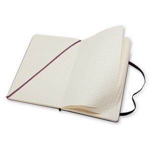 Moleskine Classic Pocket Hardcover Notebook | Squared | The Gifted Type