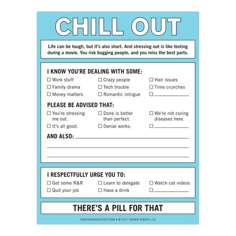 Chill Out - Nifty Notes