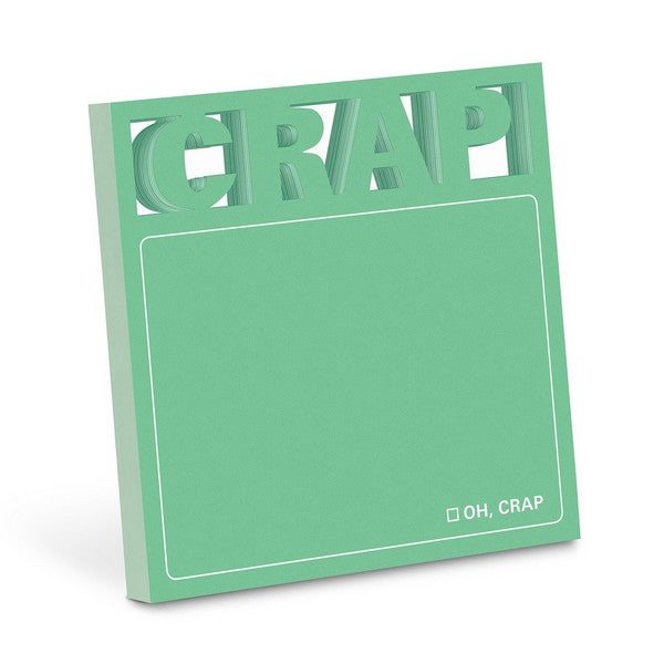 Crap (Die Cut) - Sticky Notes