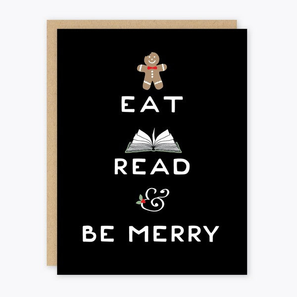 Eat Read Be Merry - HL115