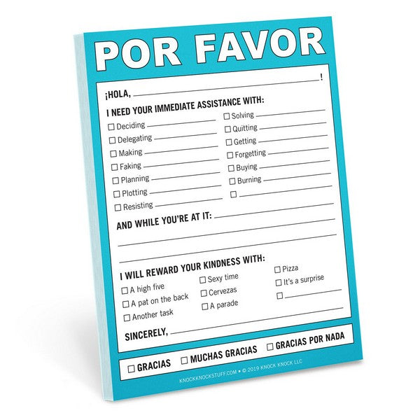 Por Favor - Nifty Note