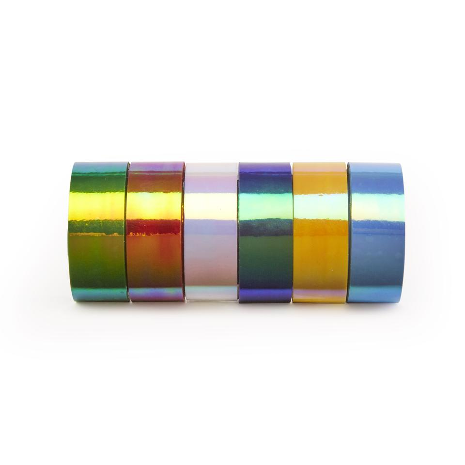 Iridescent Tape - 6 Pack