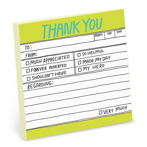 Thank You - Sticky Notes