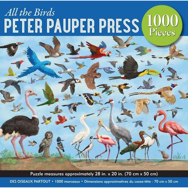 All The Birds - 1000 Pieces