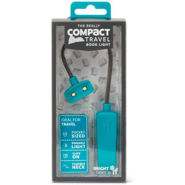 Really Compact Travel Book Light - Turquoise