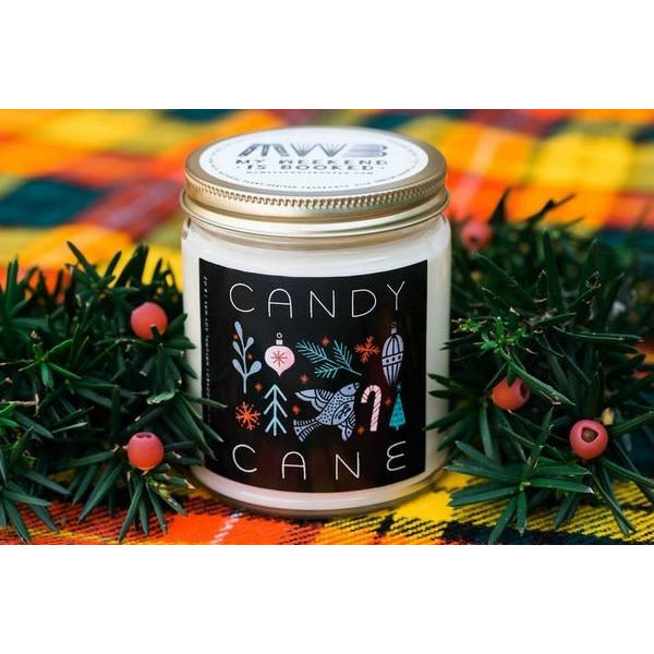Candy Cane - 8oz Candle