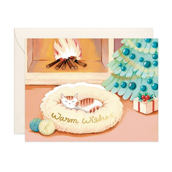 Cat Warm Wishes - GC-113