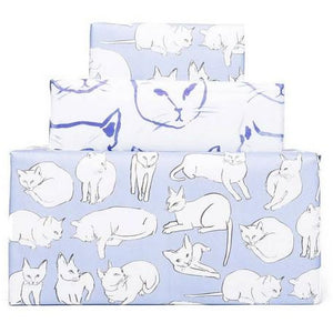 Violet Cats - Gift Wrap