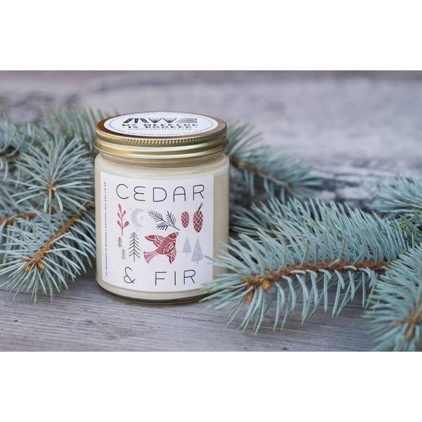 Cedar & Fir - 8oz Candle