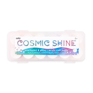 Cosmic Shine - Acrylic Craft Paint Set