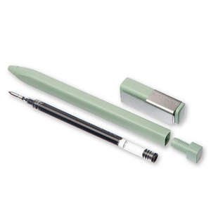 Moleskine Sage Green Roller Pen | The Gifted Type