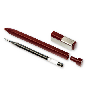 Moleskine Burgundy Red Roller Pen | The Gifted Type