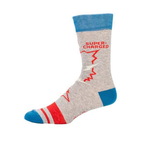 Blue Q Men's Crew Sock Video Game | The Gifted Type