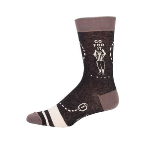 Blue Q Men's Crew Sock Sunday | The Gifted Type