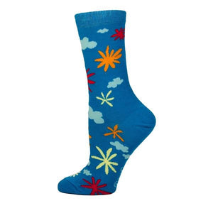Blue Q Women's Crew Sock Carpe The Fuck Out Of This Diem | The Gifted Type