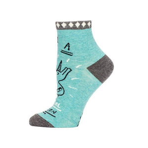 Blue Q Women's Ankle Sock I'm A Special Unicorn | The Gifted Type