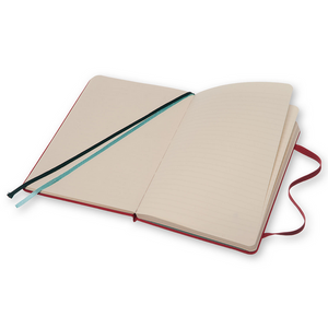 Moleskine Two-Go Notebook | Raspberry Red | The Gifted Type