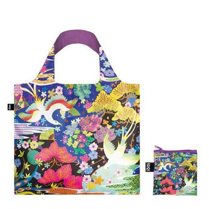 Loqi Tote Bag Dancing Birds | The Gifted Type