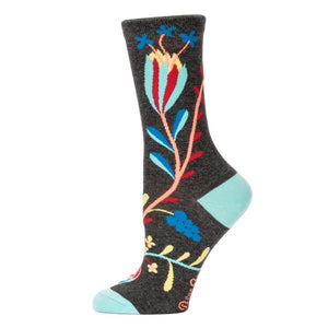 Blue Q Women's Crew Sock I'm Complicated Thank You | The Gifted Type