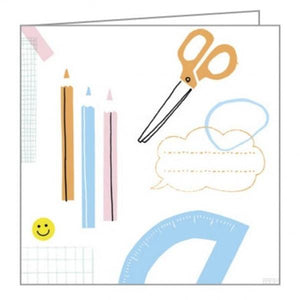 Boxed Notecards Fliptop Mini Cut + Paste Set Of 16 | The Gifted Type