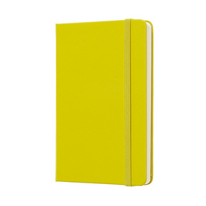 Moleskine Classic Pocket Hardcover Notebook | Dandelion Yellow | The Gifted Type