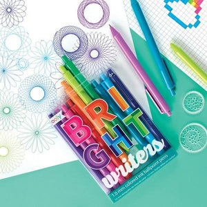 Bright Writers - Ballpoint Pens Set of 10