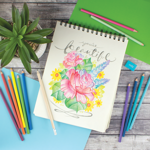 Sketch and Colour Pencil Set | The Gifted Type
