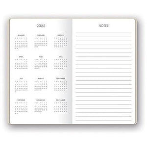 Pearl Shimmer Mini Planner - 17 Month