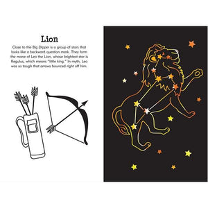 Constellations Scratch And Sketch | Activity Book | The Gifted Type