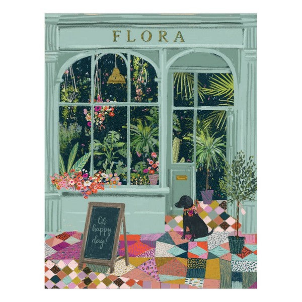 Flower Shop - Greeting Card