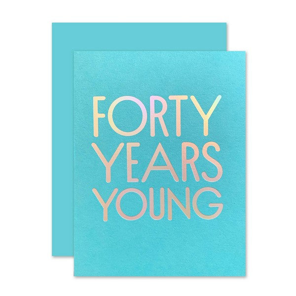 Forty Years Yong - 1315