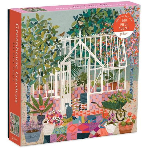 Greenhouse Gardens 500 Pieces