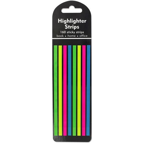 Sticky Note Highlighter Strips