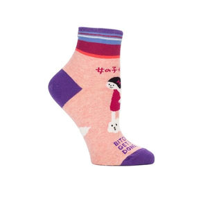 Blue Q Women's Ankle Sock Bitches Get Stuff Done | The Gifted Type
