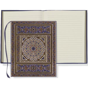 Blue Medallion Oversize Journal