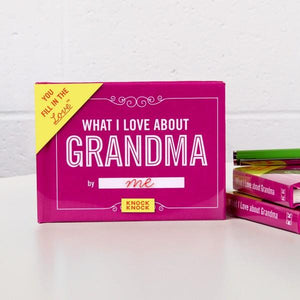 Knock Knock Fill In The Love Journal What I Love About Grandma | The Gifted Type