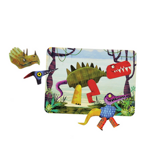 Magnetic Play Set Dinosaurs | Magnets And Background | The Gifted Type