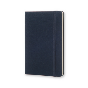 Moleskine Two-Go Notebook | Oriental Blue | The Gifted Type