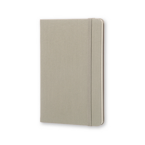 Moleskine Two-Go Notebook | Ash Grey | The Gifted Type