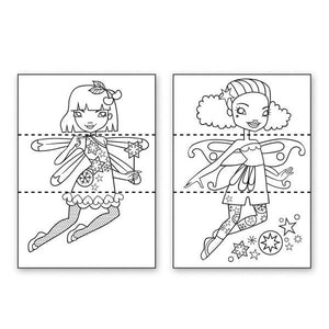 Flip And Draw Fairies | Activity Book | The Gifted Type