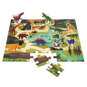 Puzzle Play Set Dinosaurs | 36 Pieces | The Gifted Type