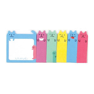 Sticky Tabs Colour Cats | The Gifted Type