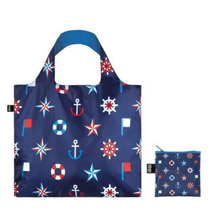 Loqi Tote Bag Nautical Classic | The Gifted Type
