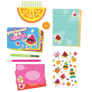 On-The-Go Stationery Kit Fresh Fruits | The Gifted Type