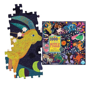 Eeboo Puzzle Zodiac | 1000+ Pieces | The Gifted Type
