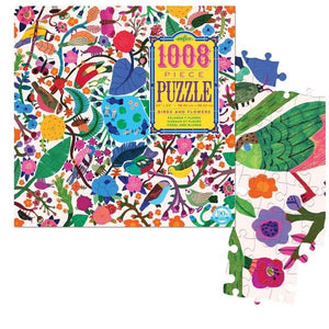 Eeboo Puzzle Birds And Flowers | 1008 Pieces | The Gifted Type