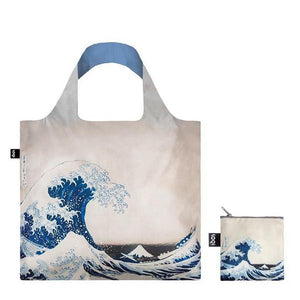 Loqi Tote Bag The Great Wave | The Gifted Type