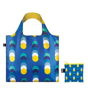 Loqi Tote Bag Geometric Circles | The Gifted Type