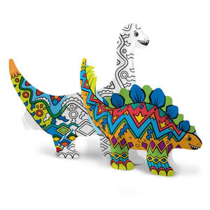 3D Colouring Kit Dinosaur Friends | The Gifted Type