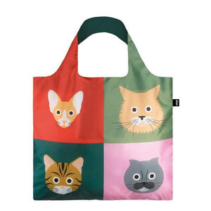 Loqi Tote Bag Cats | The Gifted Type